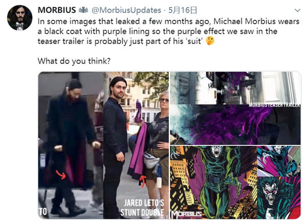 《莫比亚斯》片场照再曝细节 莱托少爷身穿全黑神秘套装(图3)