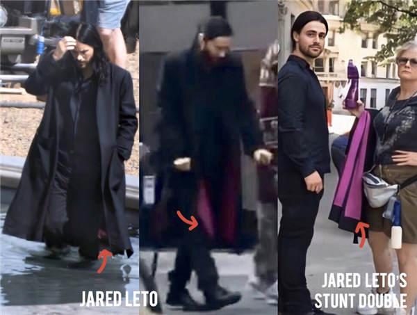 《莫比亚斯》片场照再曝细节 莱托少爷身穿全黑神秘套装(图2)